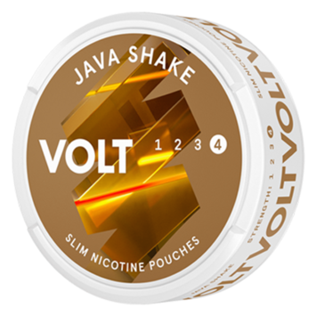 VOLT Java Shake Extra Strong Nicotine Pouches