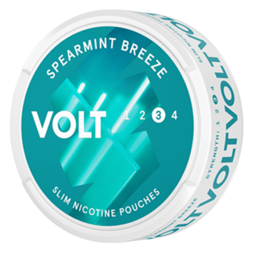 VOLT Spearmint Breeze Strong Nicotine Pouches