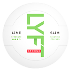 Lyft Lime Slim Strong Nicotine Pouches