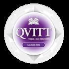 Qvitt Salmiak Mini Nicotine Free Swedish Snus
