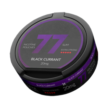 77 Black Currant Slim Extra Strong Nicotine Pouches