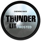 Thunder Lit Frosted Portion Extra Strong Chewing Tobacco Bags