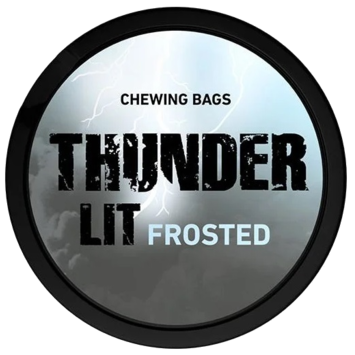 Thunder Lit Frosted Portion Extra Strong Chewing Bags