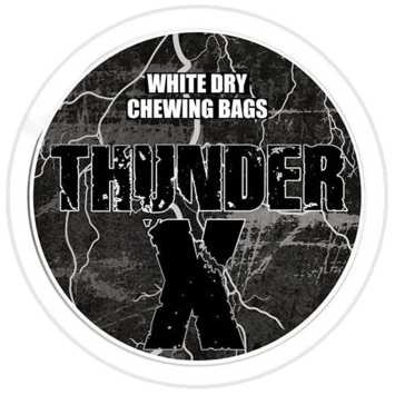 Thunder X White Dry Original Strong Chewing Bags