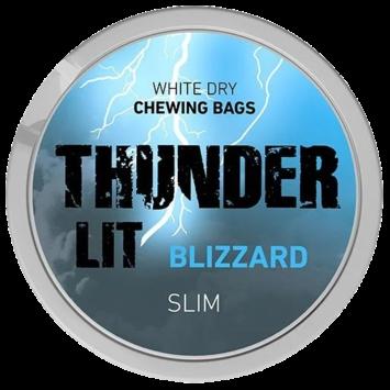 Thunder LIT Blizzard Slim, 13.2g, White Dry CB
