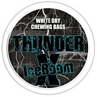 Thunder X Iceboom White Dry Original Extra Strong Chewing Bags