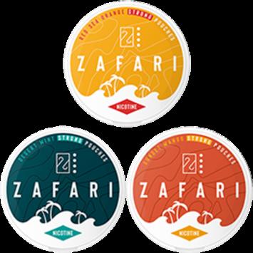Zafari 10MG Mixpack Nicotine Pouches