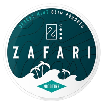 Zafari Desert Mint 4MG Slim Nicotine Pouches