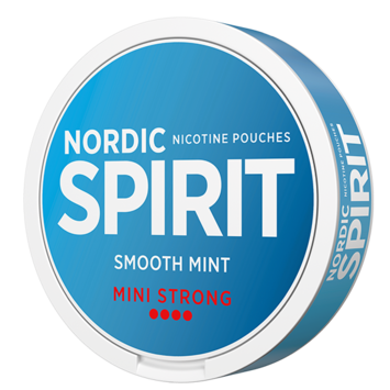 Nordic Spirit Smoot Mint Mini Strong Nicotine Pouches