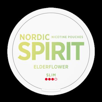 Nordic Spirit Elderflower Slim Nicotine Pouches