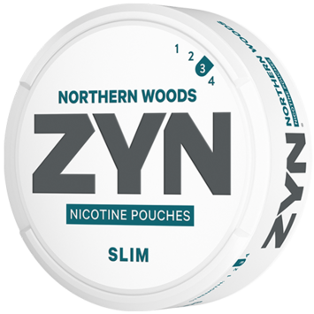 Zyn Northern Woods Slim Strong Nicotine Pouches