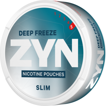 Zyn Deep Freeze Slim Extra Strong Nicotine Pouches