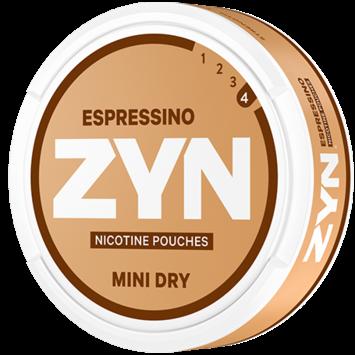 Zyn Coffee Espressino Mini Strong Nicotine Pouches