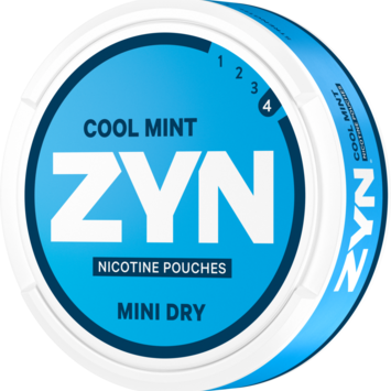 Zyn Cool Mint Mini Dry Extra Strong Nicotine Pouches