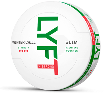 Lyft Winter Chill Slim Extra Strong Nicotine Pouches