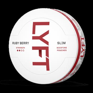 Lyft Ruby Berry Slim Nicotine Pouches