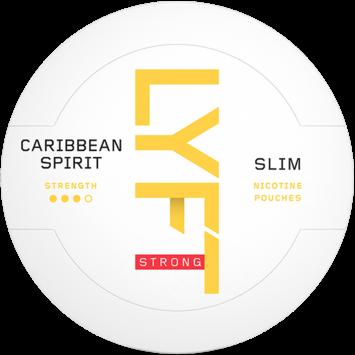 LYFT Caribbean Spirit Slim Strong Nicotine Pouches