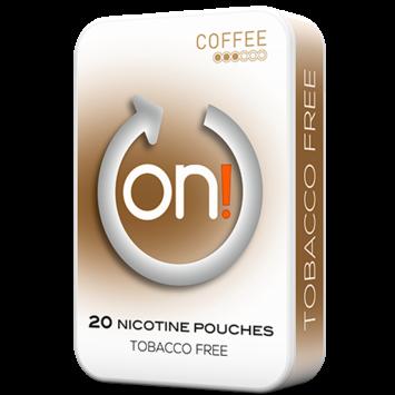 on! Coffee 3mg Mini Nicotine Pouches