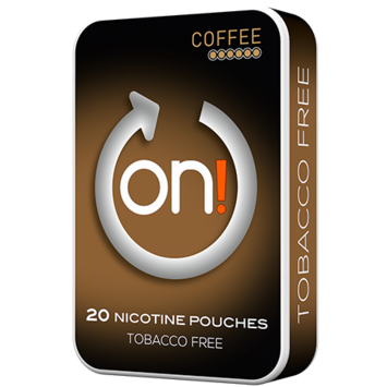 on! Coffee 6mg Mini Strong Nicotine Pouches