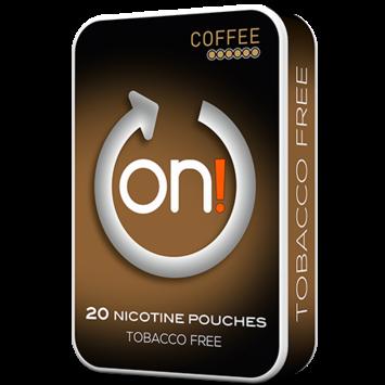 on! Coffee 6mg Mini Nicotine Pouches
