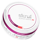 Skruf Super White Blackcurrant #3 Slim Nicotine Pouches