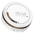 Skruf Super White Nordic #2 Slim Nicotine Pouches