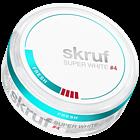 Skruf Super White Fresh #4 Slim Extra Strong Nicotine Pouches