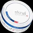Skruf Super White Polar #3 Slim Nicotine Pouches