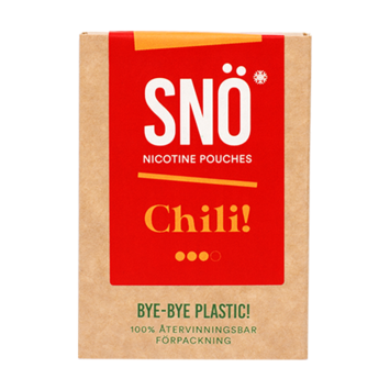 SNÖ Chili Strong Nicotine Pouches
