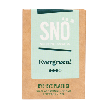 SNÖ Evergreen Strong Nicotine Pouches