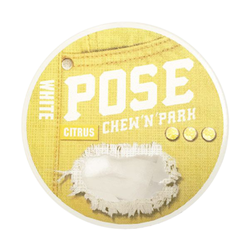 POSE Citrus 7mg Mini Extra Strong Nicotine Pouches