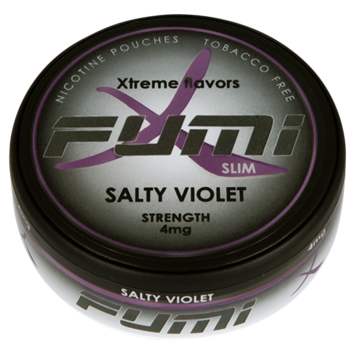 Fumi Salty Violet Slim Normal Nicotine Pouches