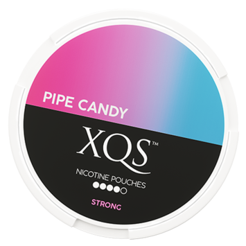 XQS Pipe Candy Slim All White Nicotine Pouches