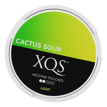 XQS Cactus Sour Slim Light Nicotine Pouches
