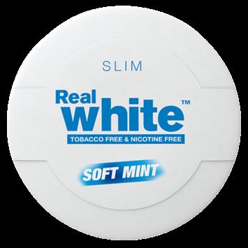 Kickup Real White Soft Slim White Nicotine Free Swedish Snus