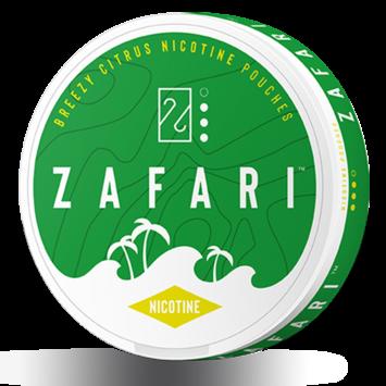 Zafari Breezy Citrus Slim Nicotine Pouches